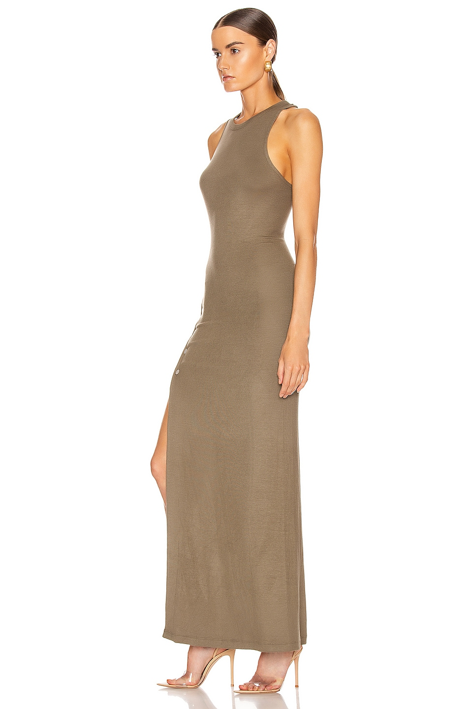 Image 3 of ALIX NYC Beekman Dress in Army