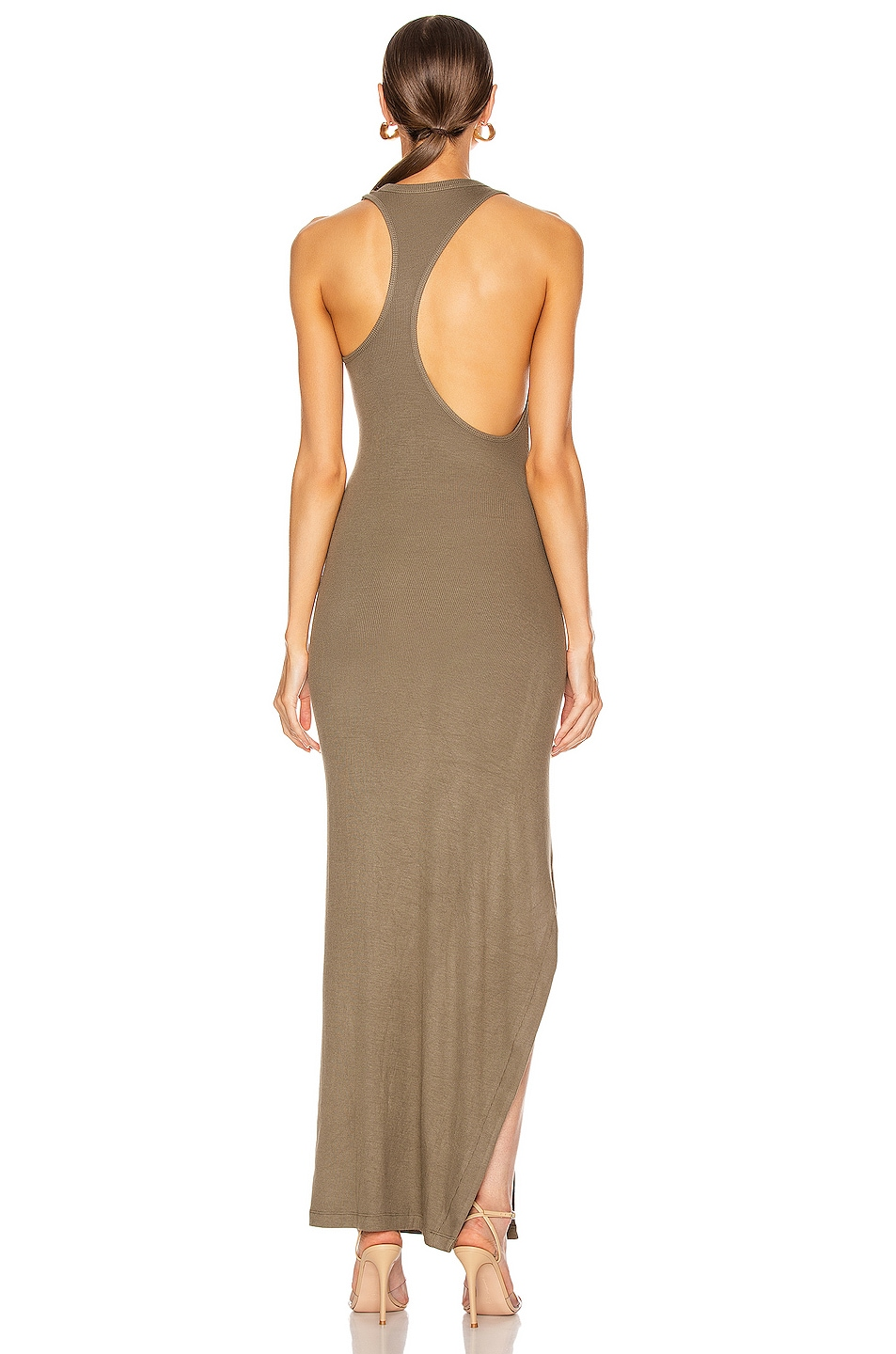 Image 4 of ALIX NYC Beekman Dress in Army