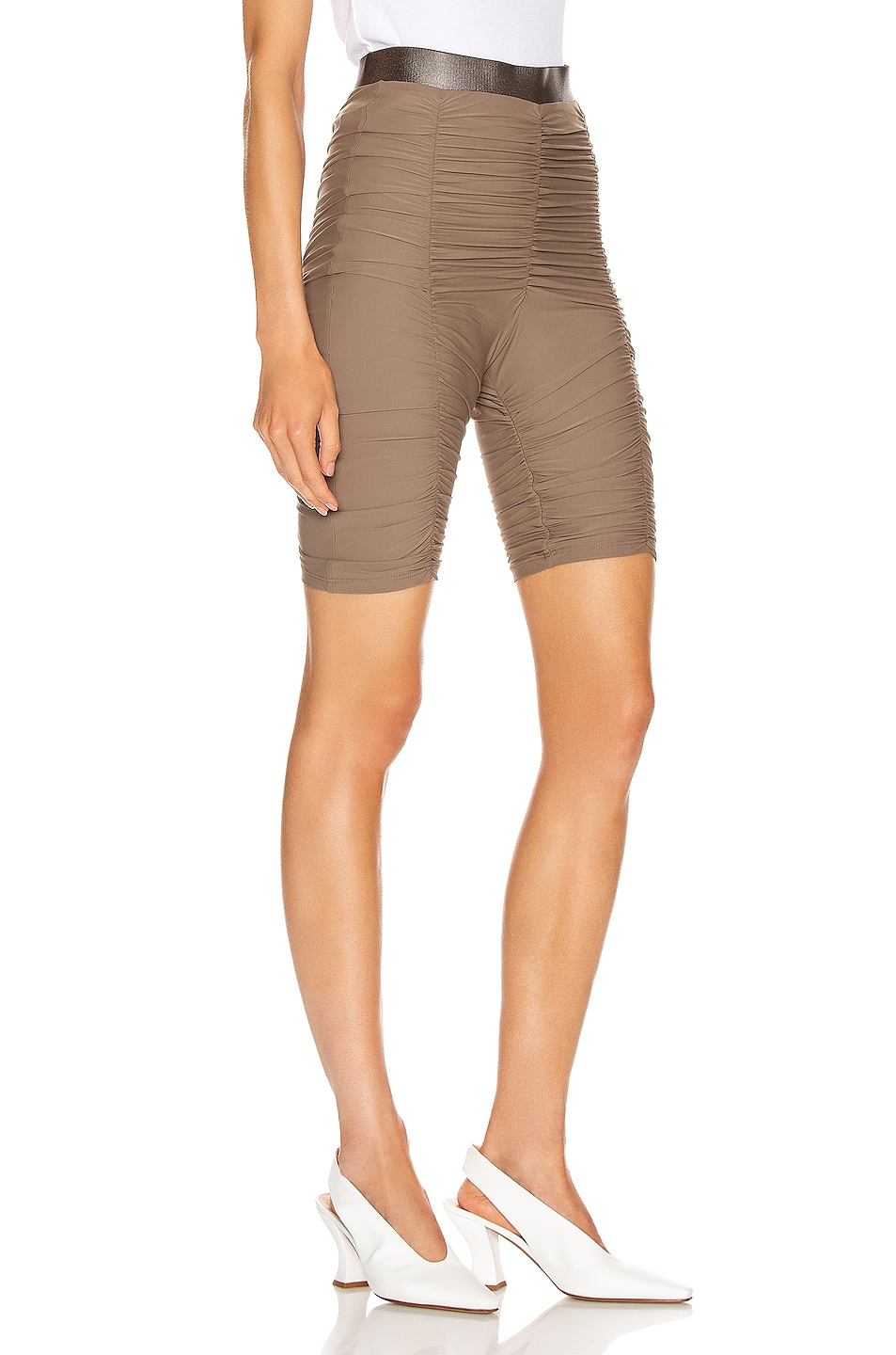 Image 2 of ALIX NYC Nixon Skin Biker Short in Army