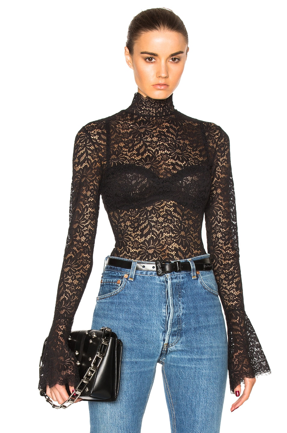 Image 1 of ALIX NYC Haven Bodysuit in Lace