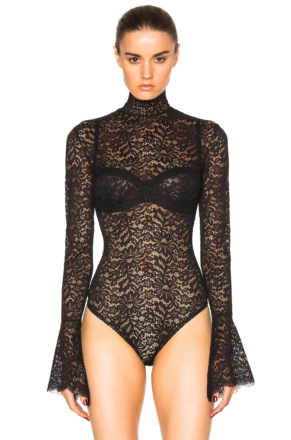 Image 2 of ALIX NYC Haven Bodysuit in Lace