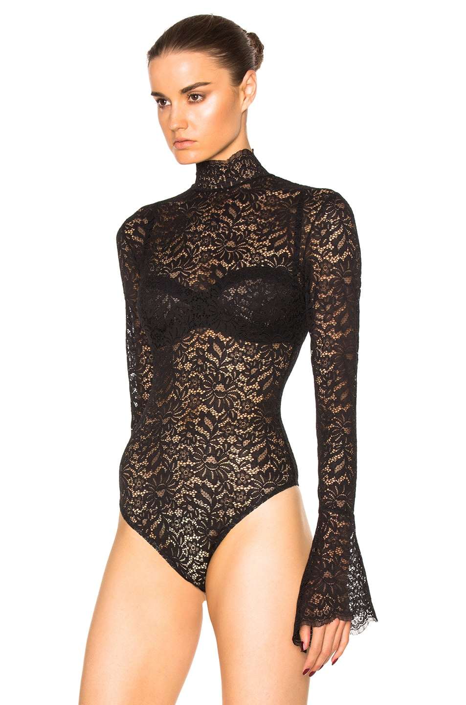 Image 3 of ALIX NYC Haven Bodysuit in Lace
