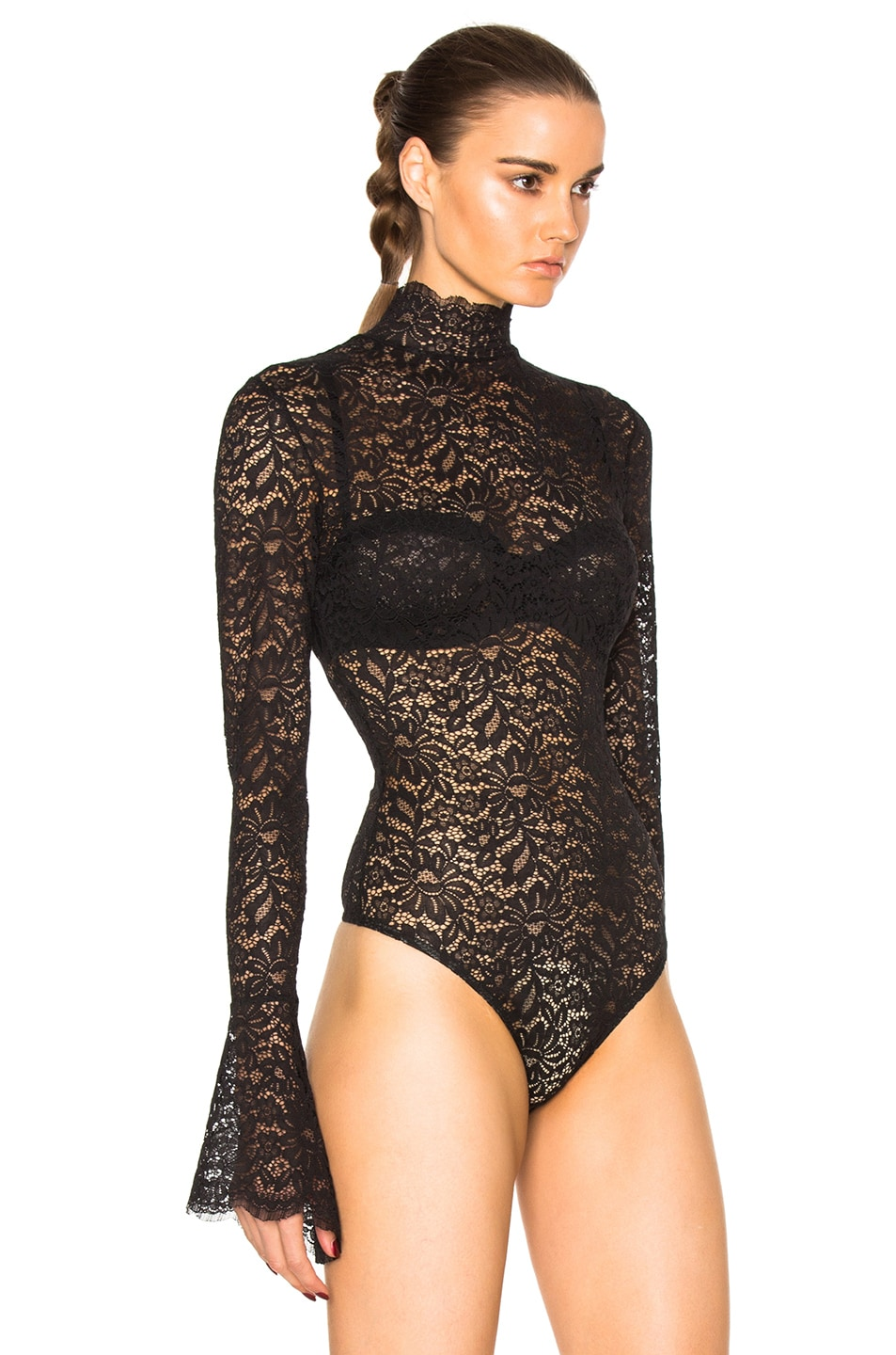 Image 4 of ALIX NYC Haven Bodysuit in Lace