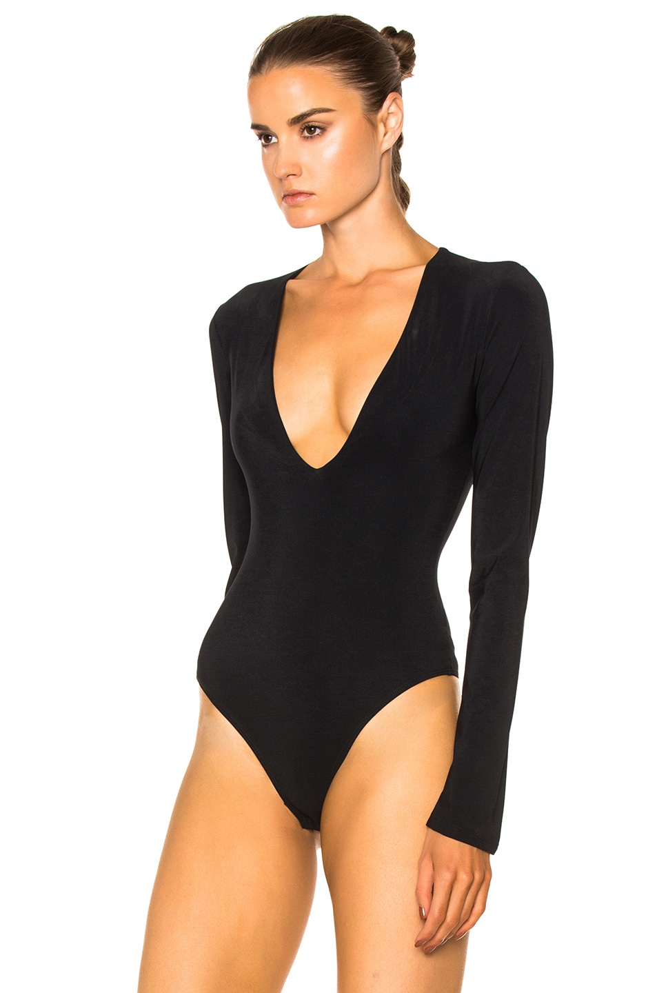 Image 3 of Alix Irving Bodysuit in Black