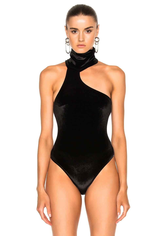 Image 2 of ALIX NYC Carmine Bodysuit in Black