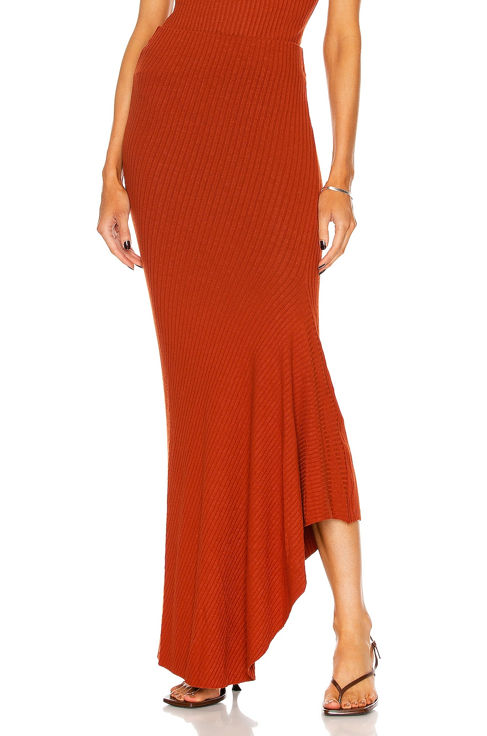 Image 1 of ALIX NYC Cove Skirt in Rust