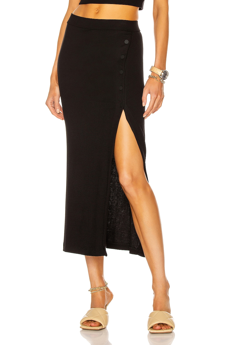 Image 1 of ALIX NYC Fordham Skirt in Black