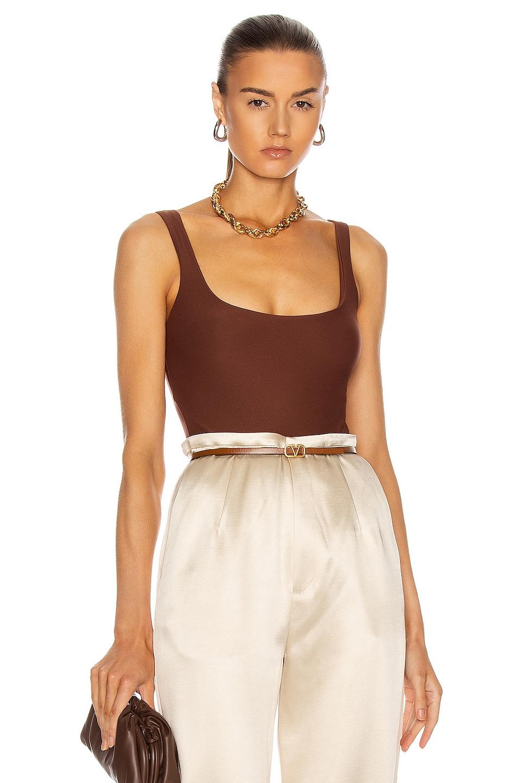 Image 1 of ALIX NYC Mott Bodysuit in Cocoa