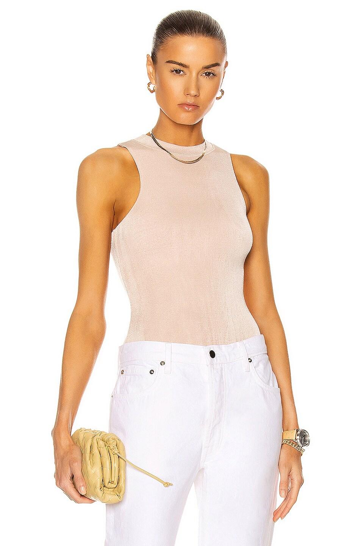 Image 1 of ALIX NYC Benson Bodysuit in Buff