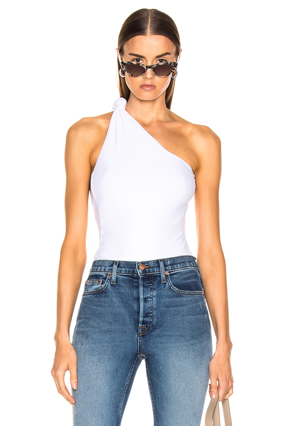 Image 1 of Alix Laurel Bodysuit in White