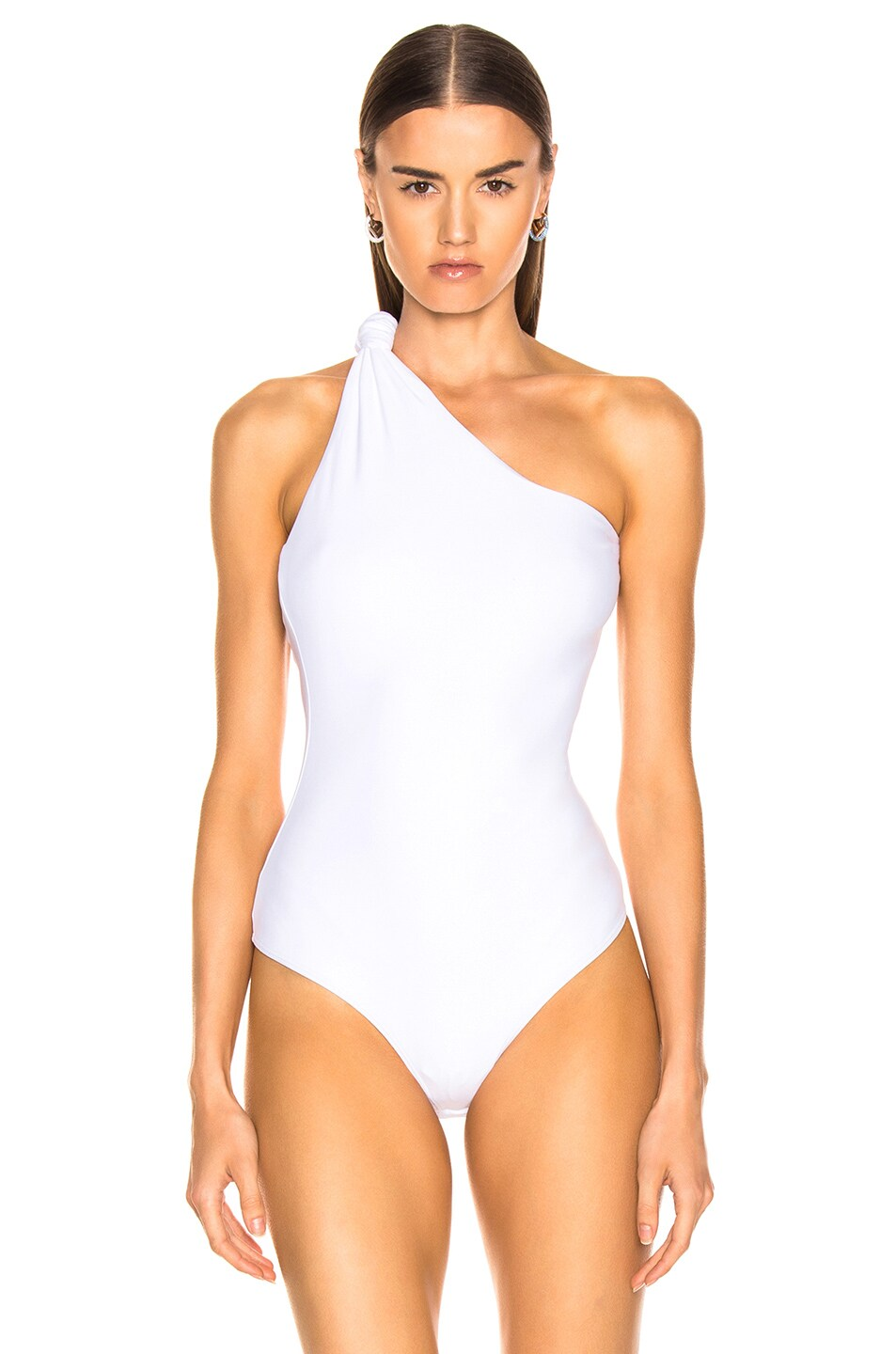 Image 2 of Alix Laurel Bodysuit in White