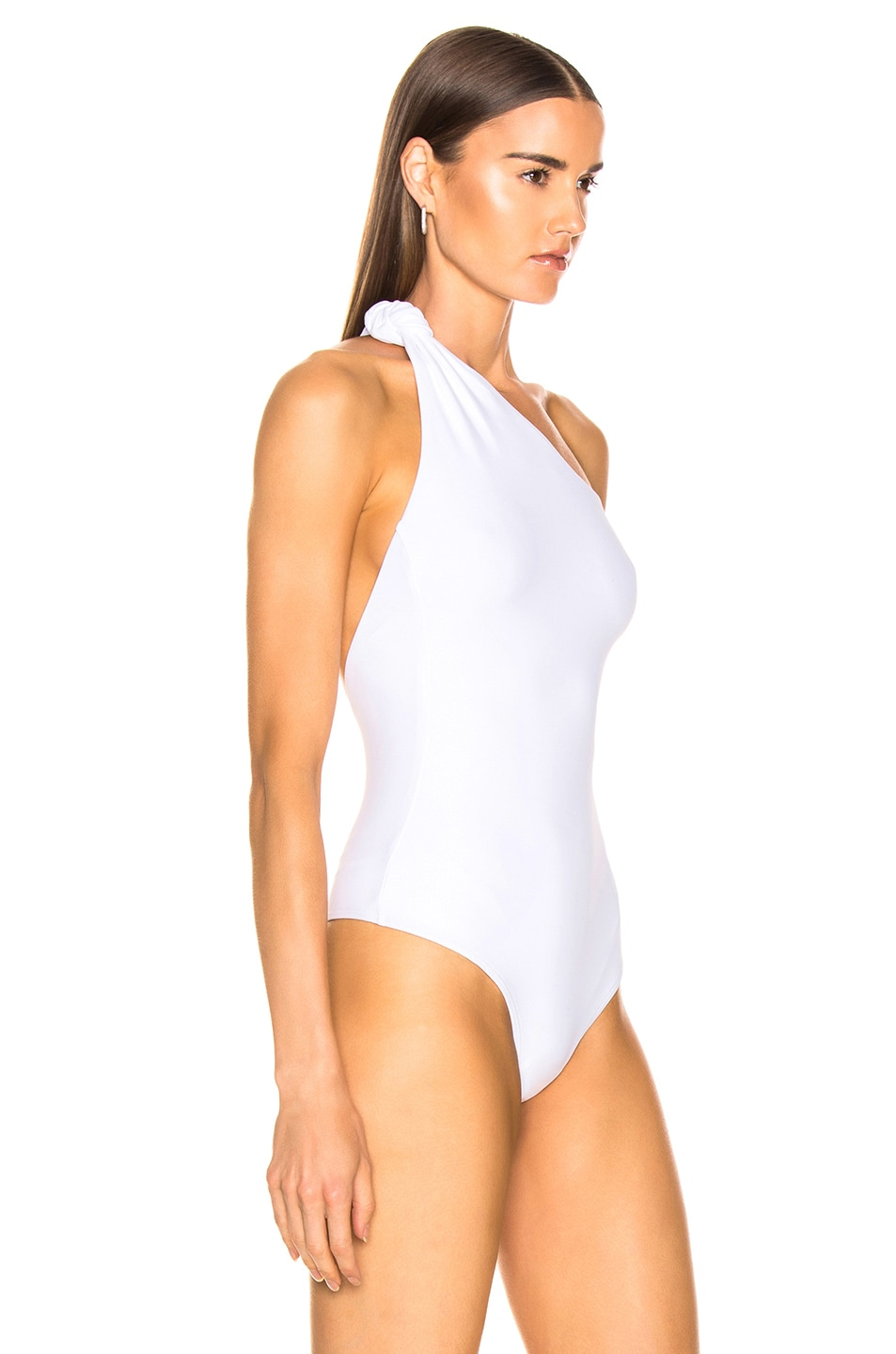 Image 3 of Alix Laurel Bodysuit in White