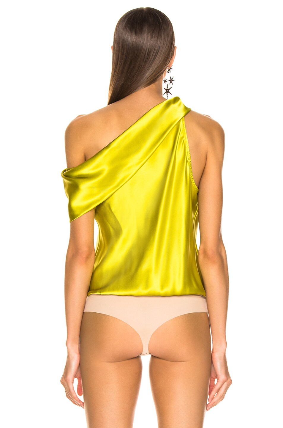 Image 5 of Alix Maiden Bodysuit in Chartreuse