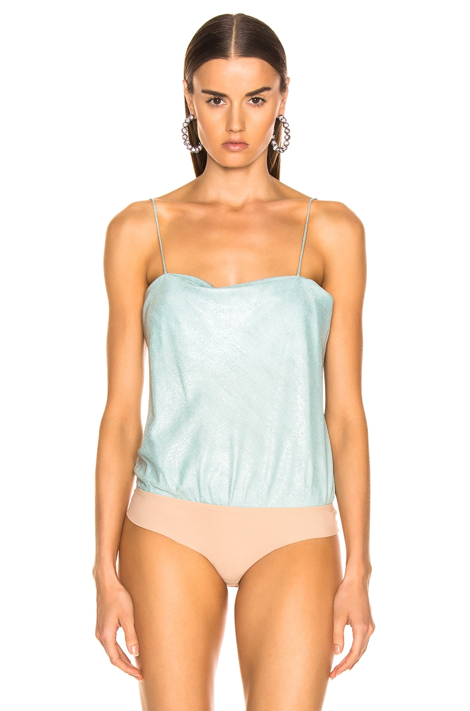 Image 2 of ALIX NYC Dean Bodysuit in Frost