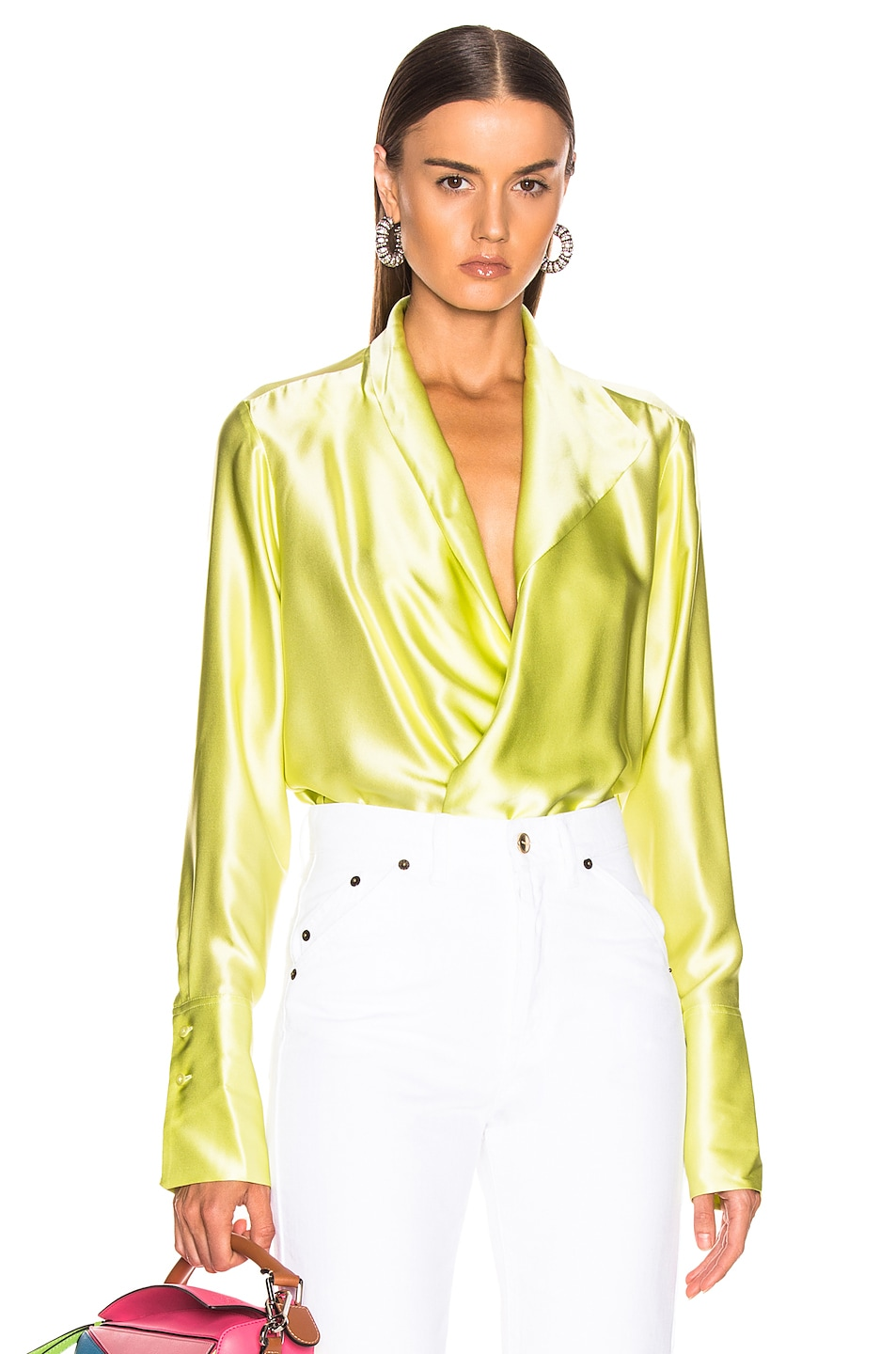 Image 1 of ALIX NYC Reade Bodysuit in Limoncello
