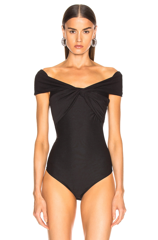 Image 2 of ALIX NYC Grove Bodysuit in Black
