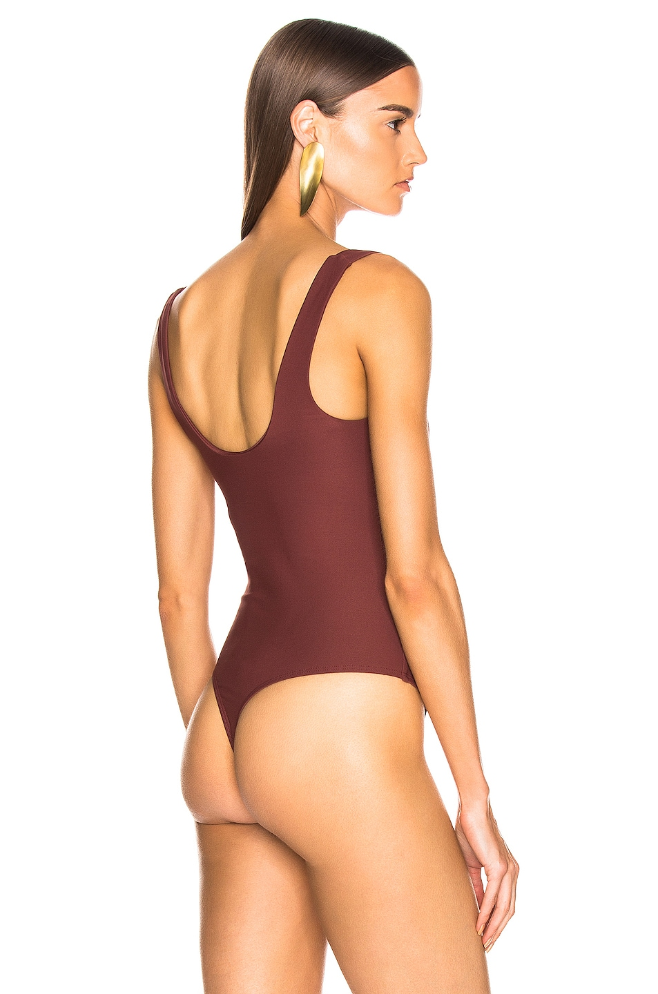 Image 4 of ALIX NYC Mott Bodysuit in Brown