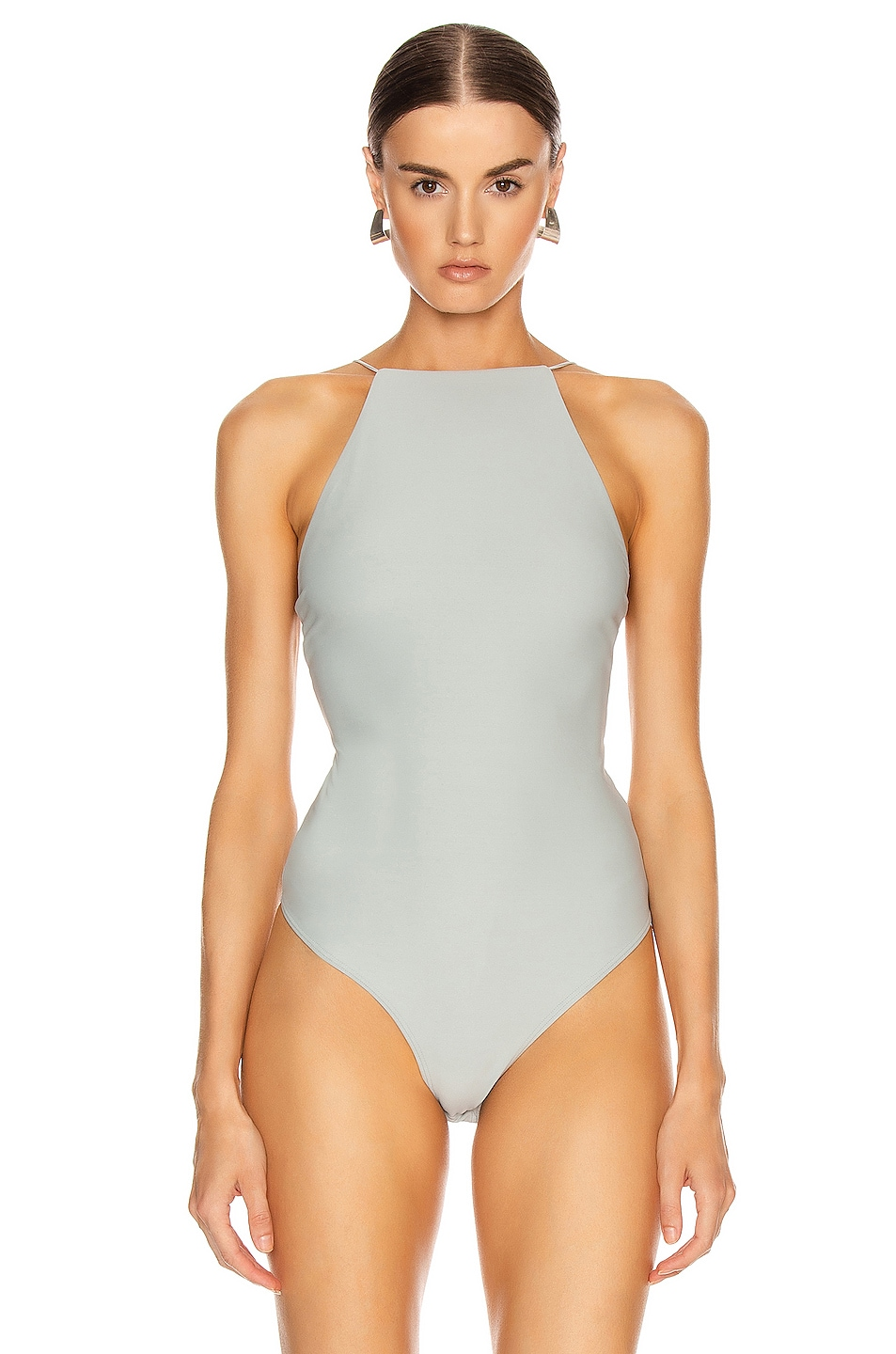 Image 2 of ALIX NYC Dyer Bodysuit in Mist