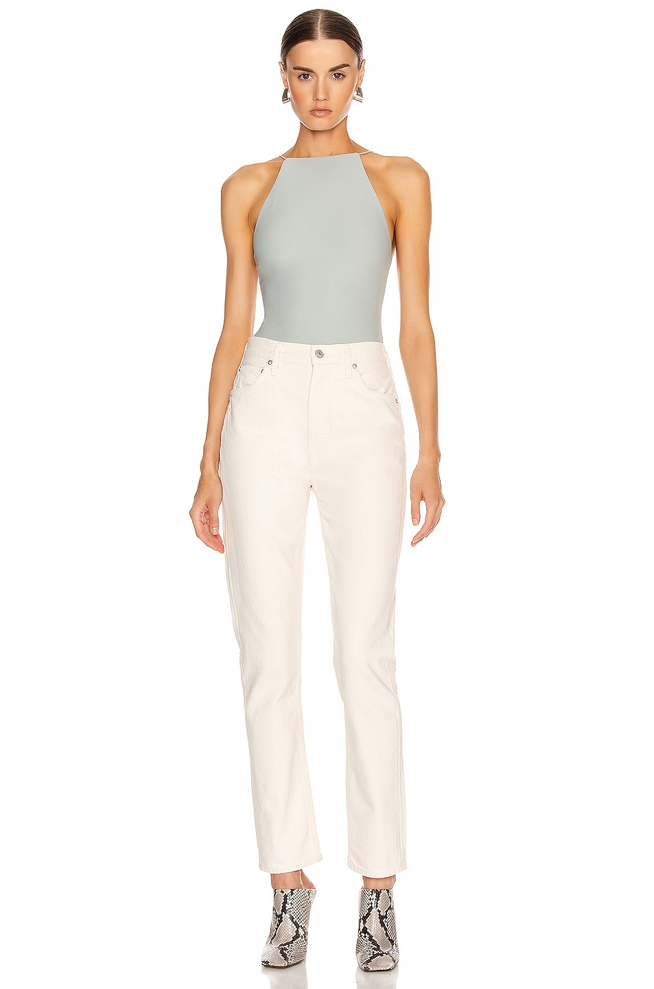 Image 5 of ALIX NYC Dyer Bodysuit in Mist