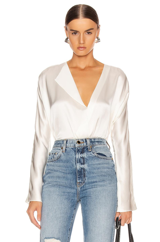 Image 1 of Alix Calder Bodysuit in Ivory