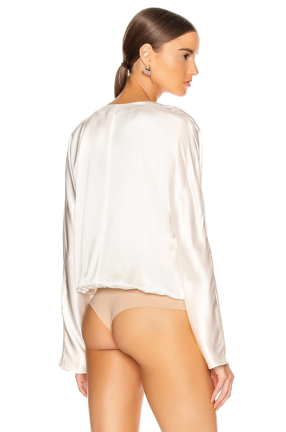Image 4 of ALIX NYC Calder Bodysuit in Ivory