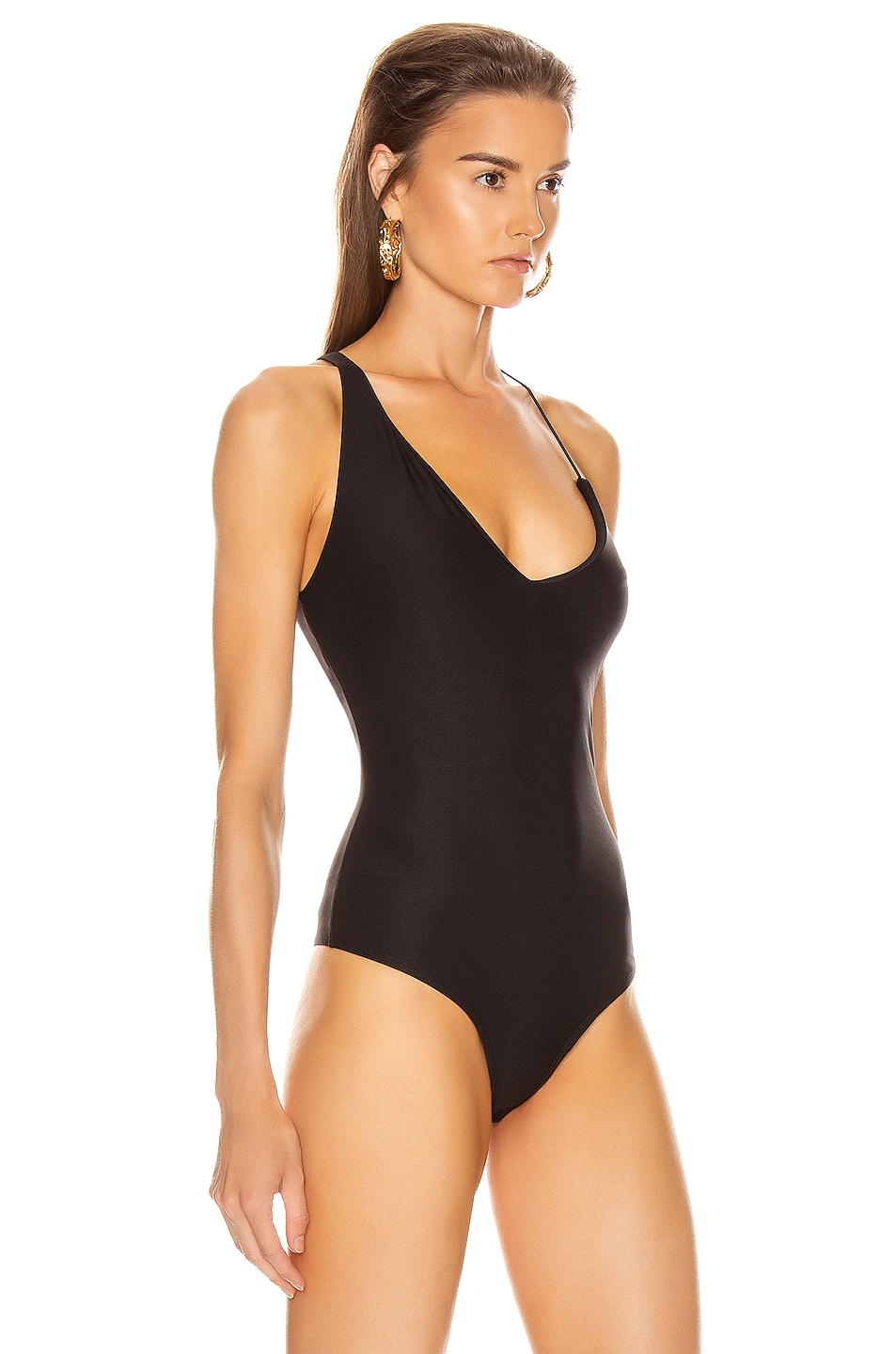 Image 3 of ALIX NYC Bijou Bodysuit in Black