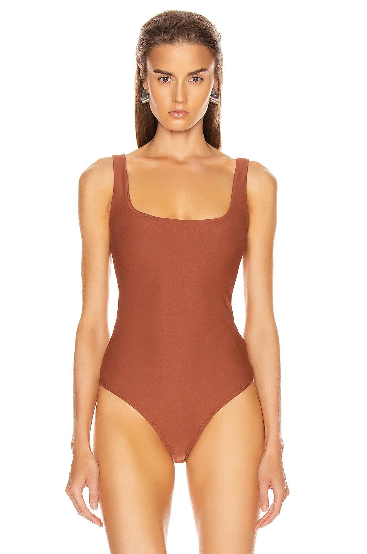Image 2 of ALIX NYC Mott Bodysuit in Sepia