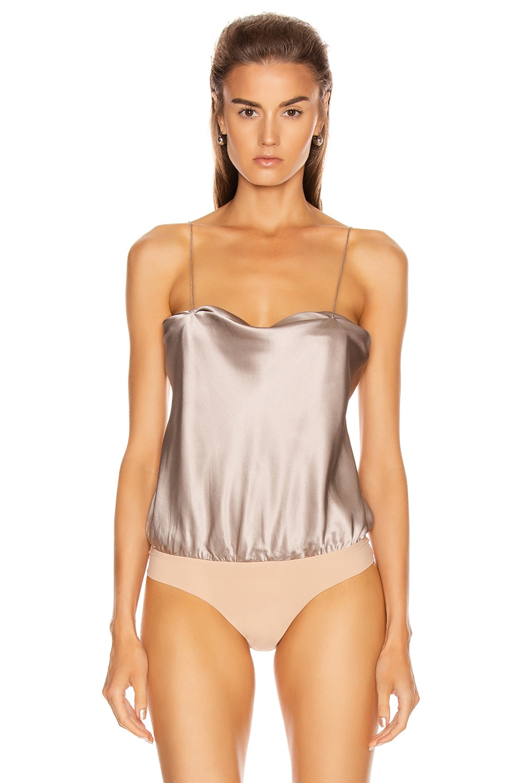 Image 2 of ALIX NYC Dean Bodysuit in Dove