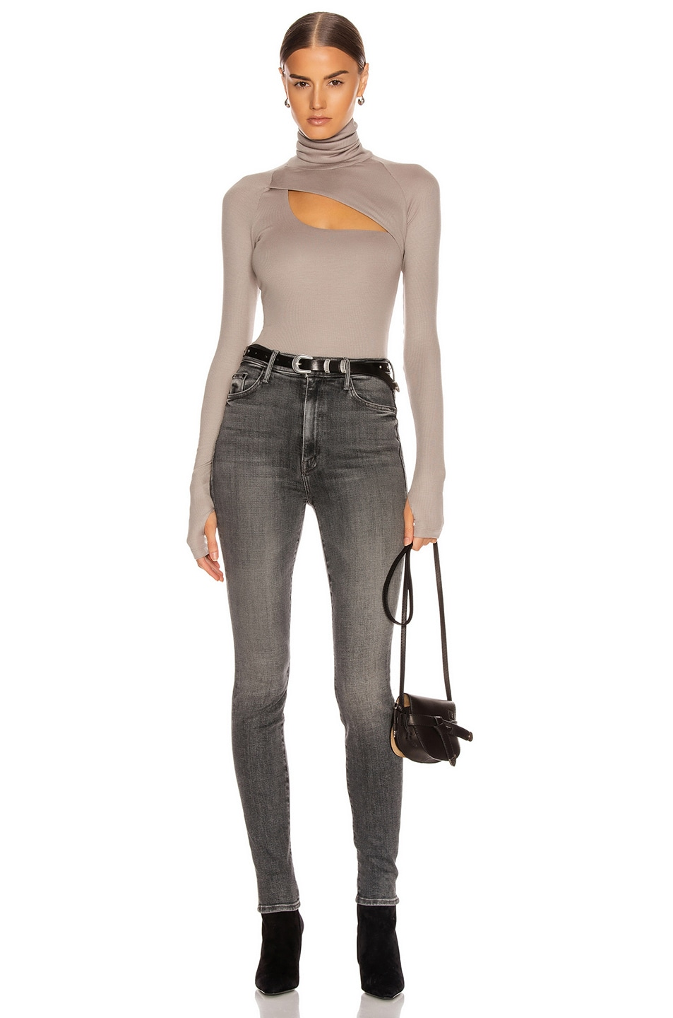 Image 5 of ALIX NYC Carder Bodysuit in Dove