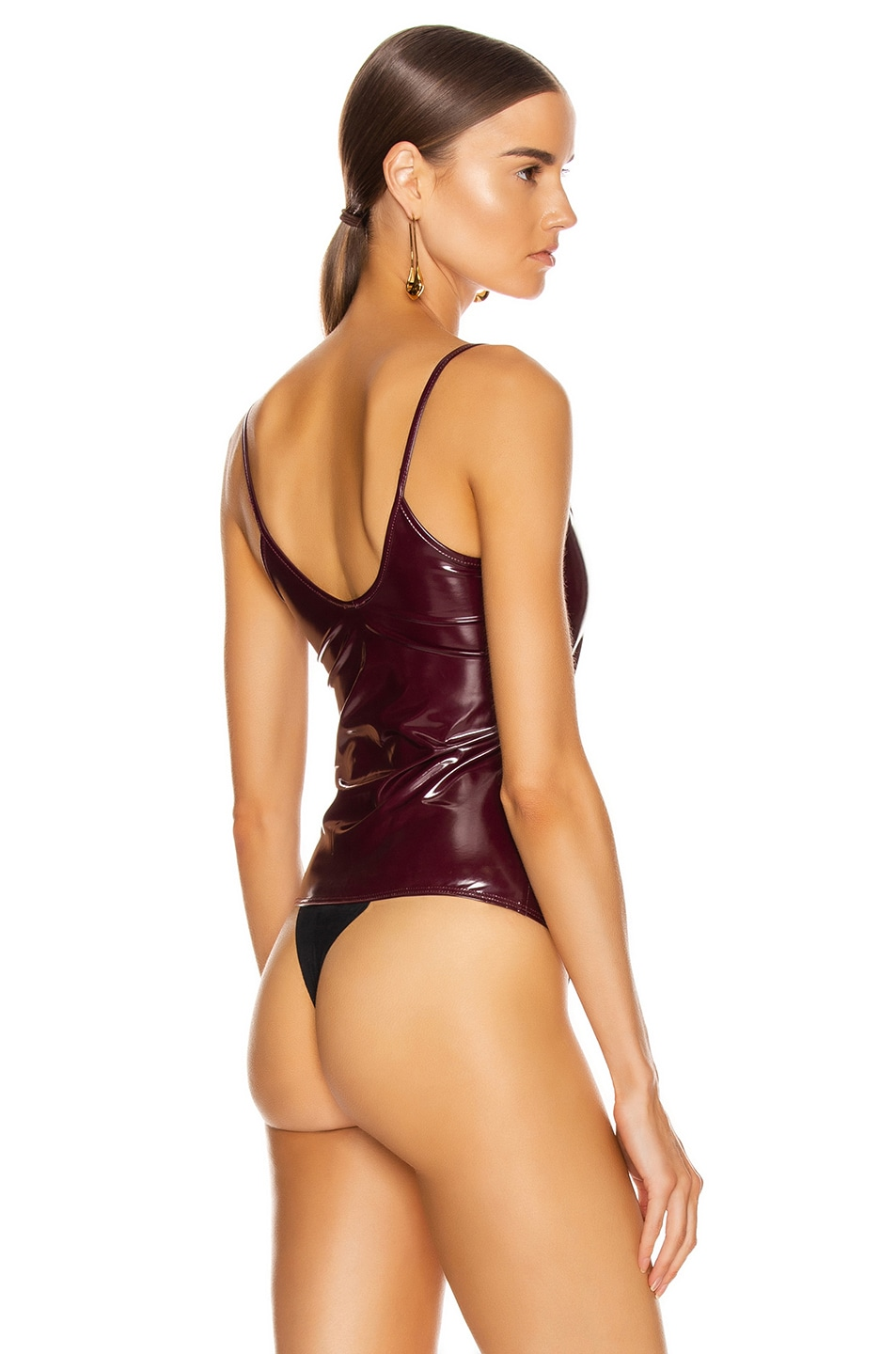 Image 4 of ALIX NYC Reeve Bodysuit in Garnet