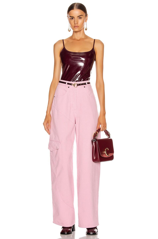 Image 5 of ALIX NYC Reeve Bodysuit in Garnet