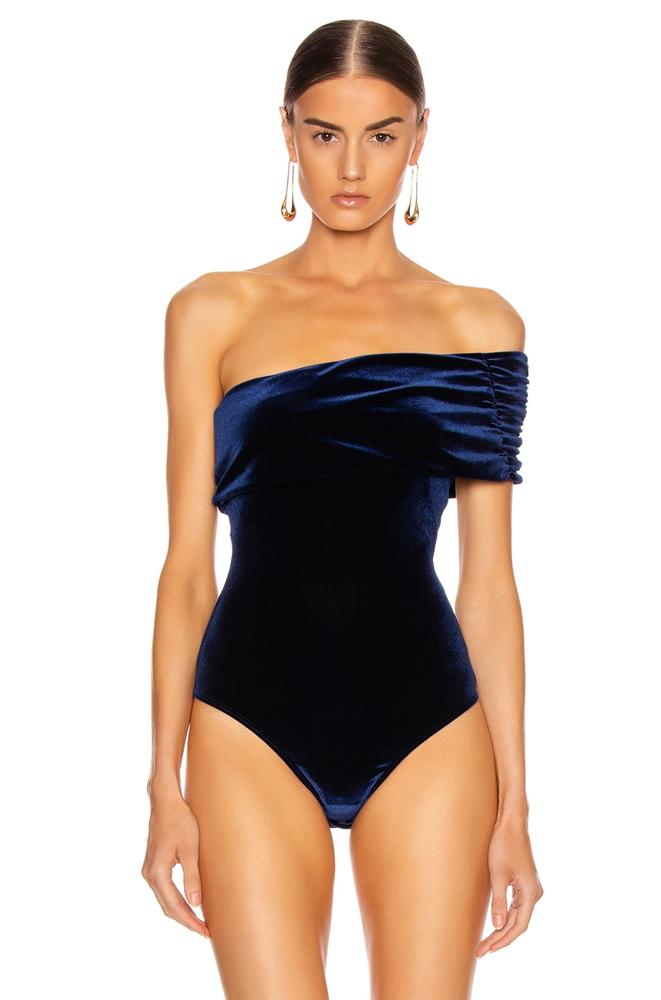 Image 2 of ALIX NYC Aurelia Bodysuit in Midnight