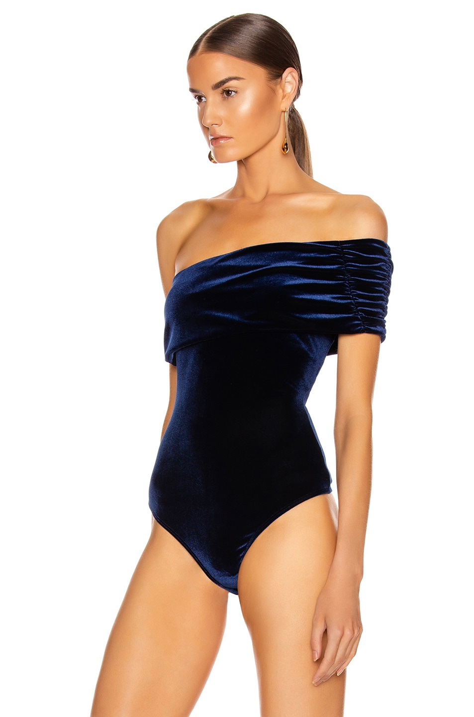 Image 4 of ALIX NYC Aurelia Bodysuit in Midnight