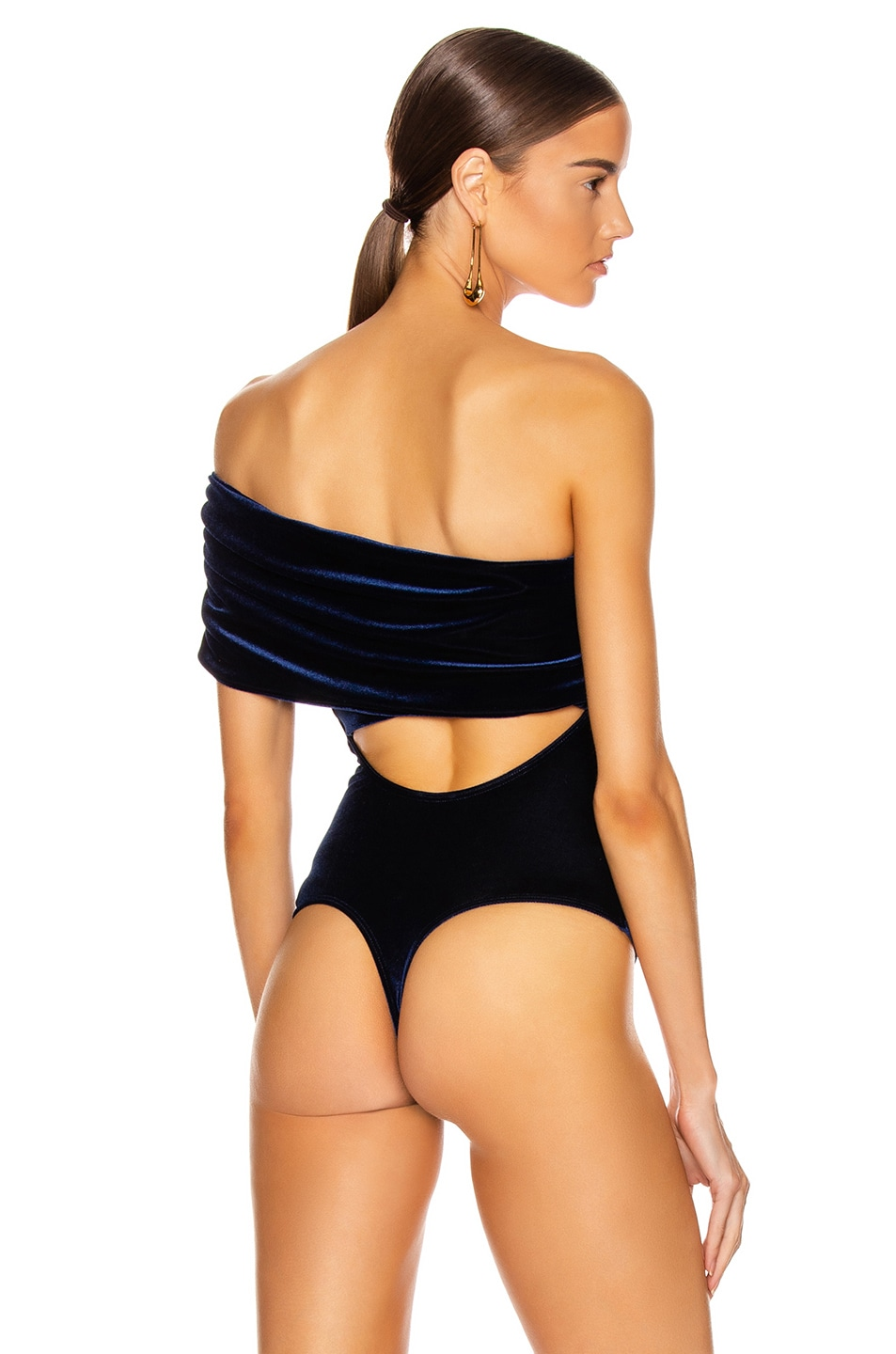 Image 5 of ALIX NYC Aurelia Bodysuit in Midnight