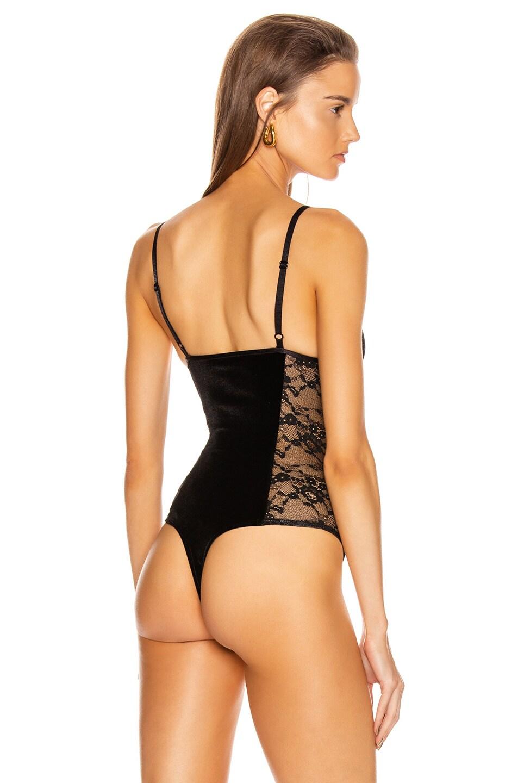 Image 4 of ALIX NYC Terrace Bodysuit in Black