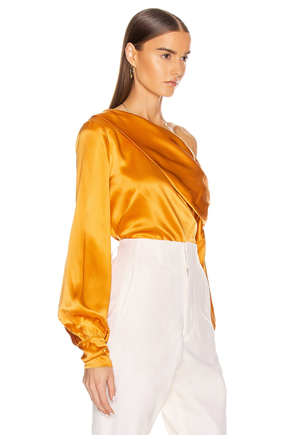Image 2 of ALIX NYC Catherine Top in Saffron