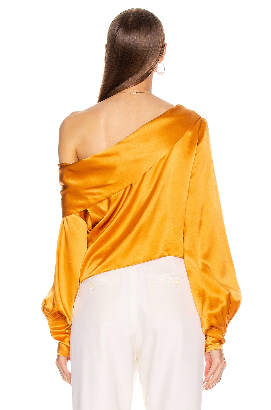 Image 4 of ALIX NYC Catherine Top in Saffron