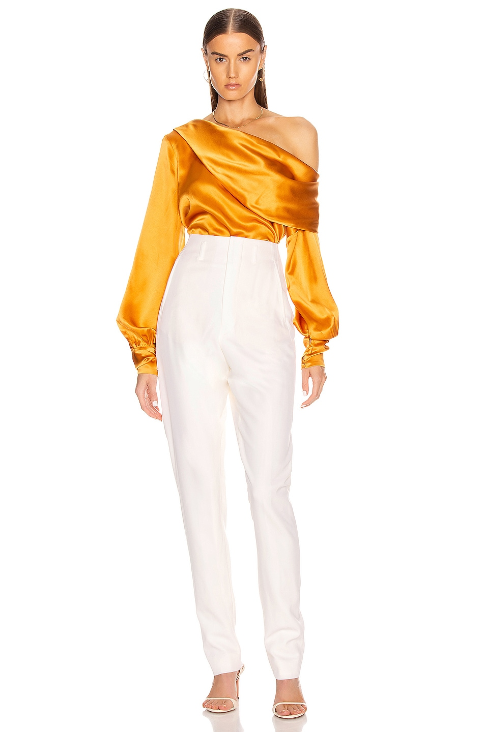 Image 5 of ALIX NYC Catherine Top in Saffron