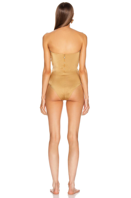Image 3 of Alix Nassau Swimsuit in Oro