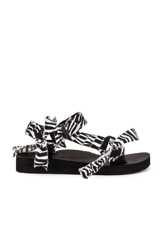 Image 1 of Arizona Love Trekky Print Sandal in Zebra Print