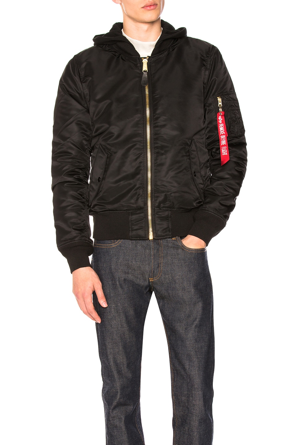 Image 1 of ALPHA INDUSTRIES MA-1 Natus in Black