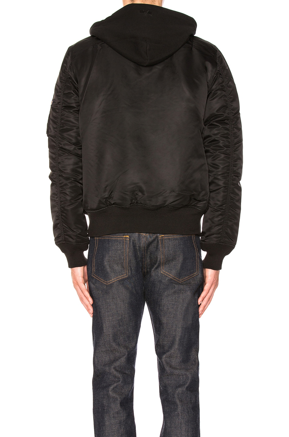 Image 4 of ALPHA INDUSTRIES MA-1 Natus in Black
