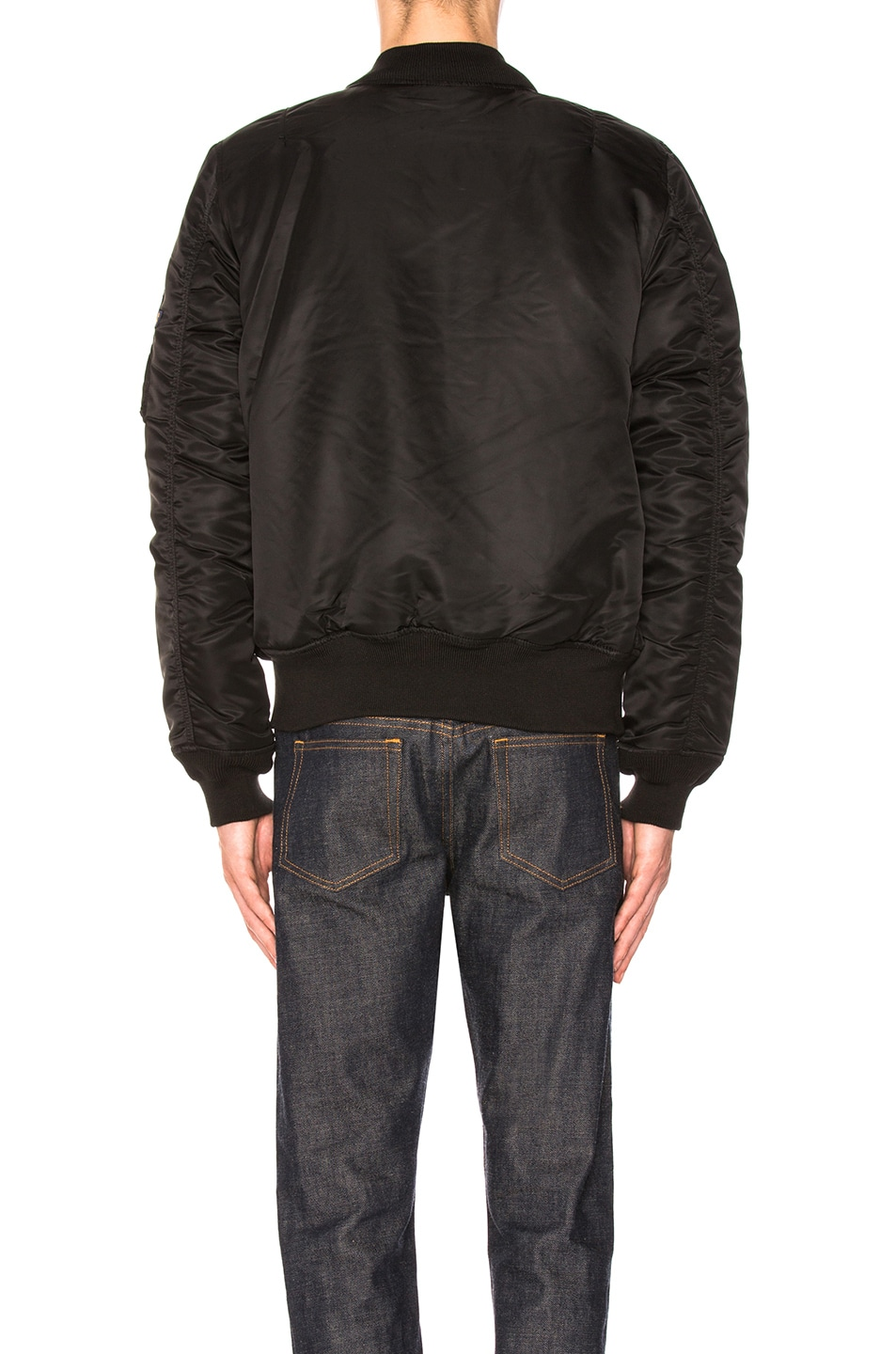 Image 5 of ALPHA INDUSTRIES MA-1 Natus in Black