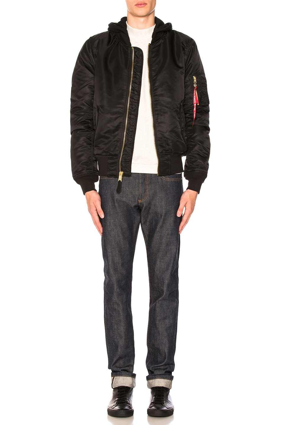 Image 6 of ALPHA INDUSTRIES MA-1 Natus in Black