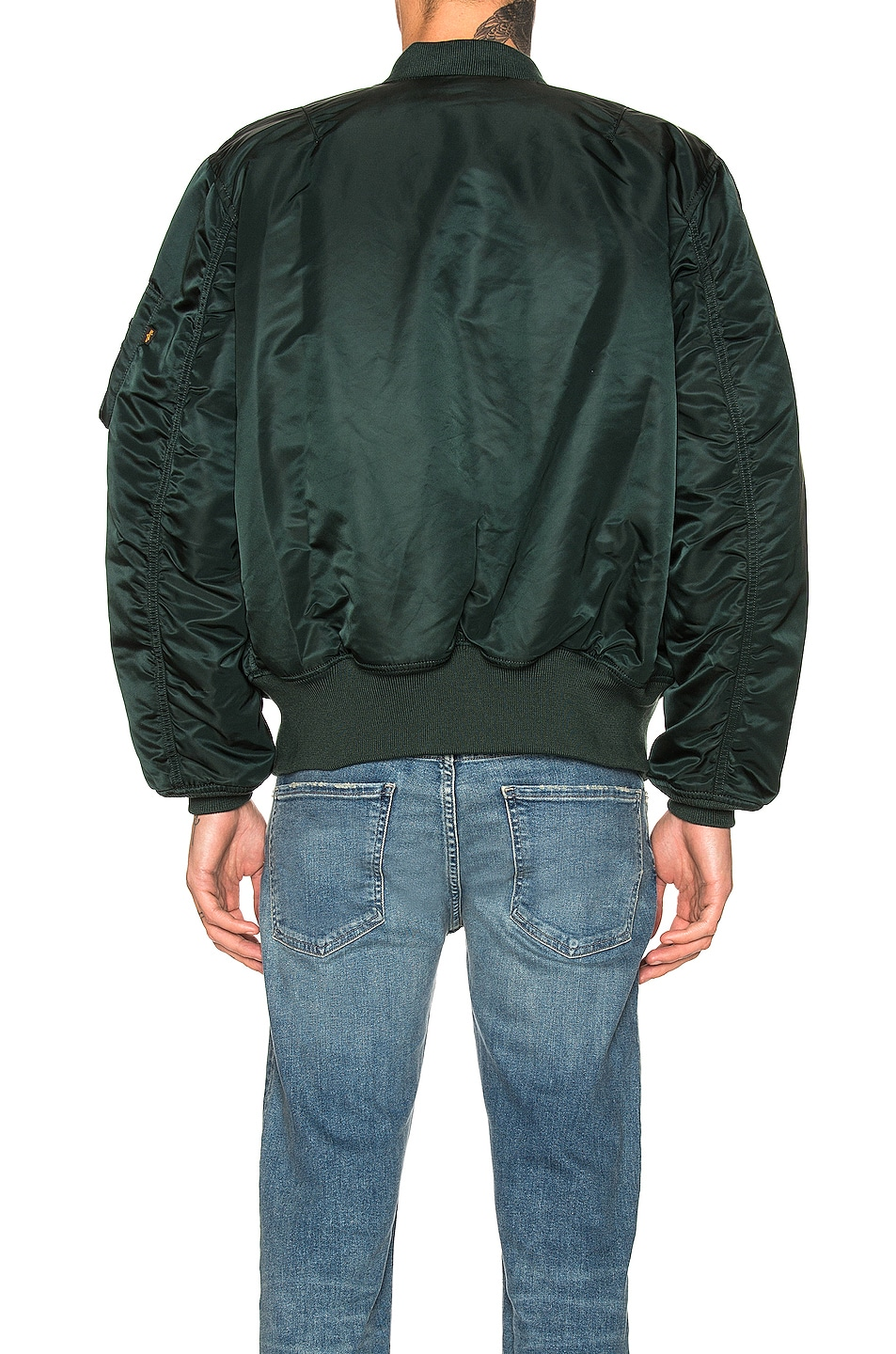 Image 5 of ALPHA INDUSTRIES MA-1 Flight Jacket in Patrol Green