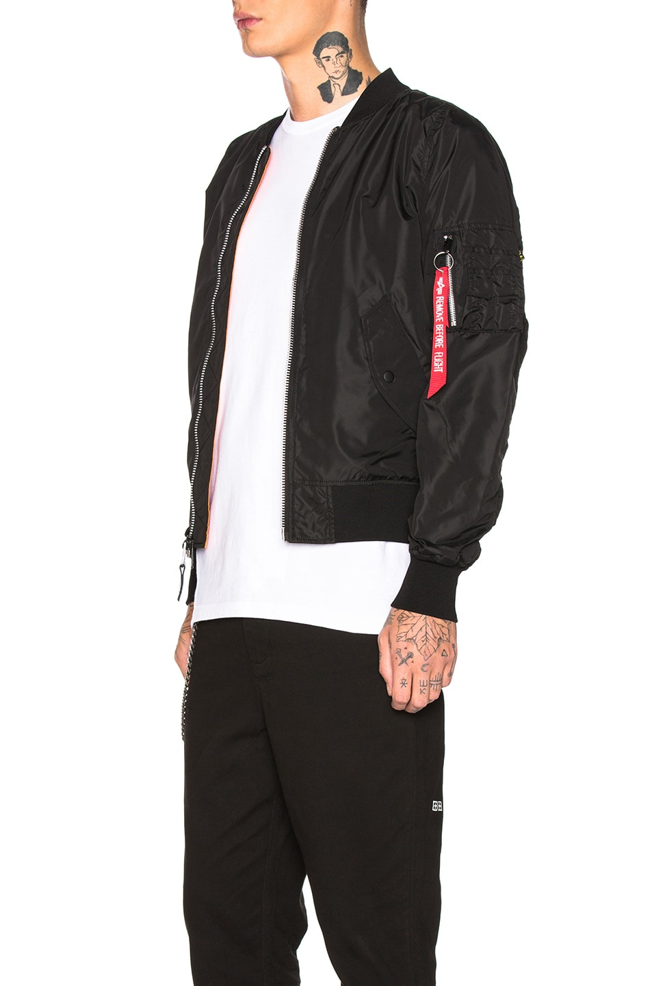 Image 4 of ALPHA INDUSTRIES L-2B Scout in Black