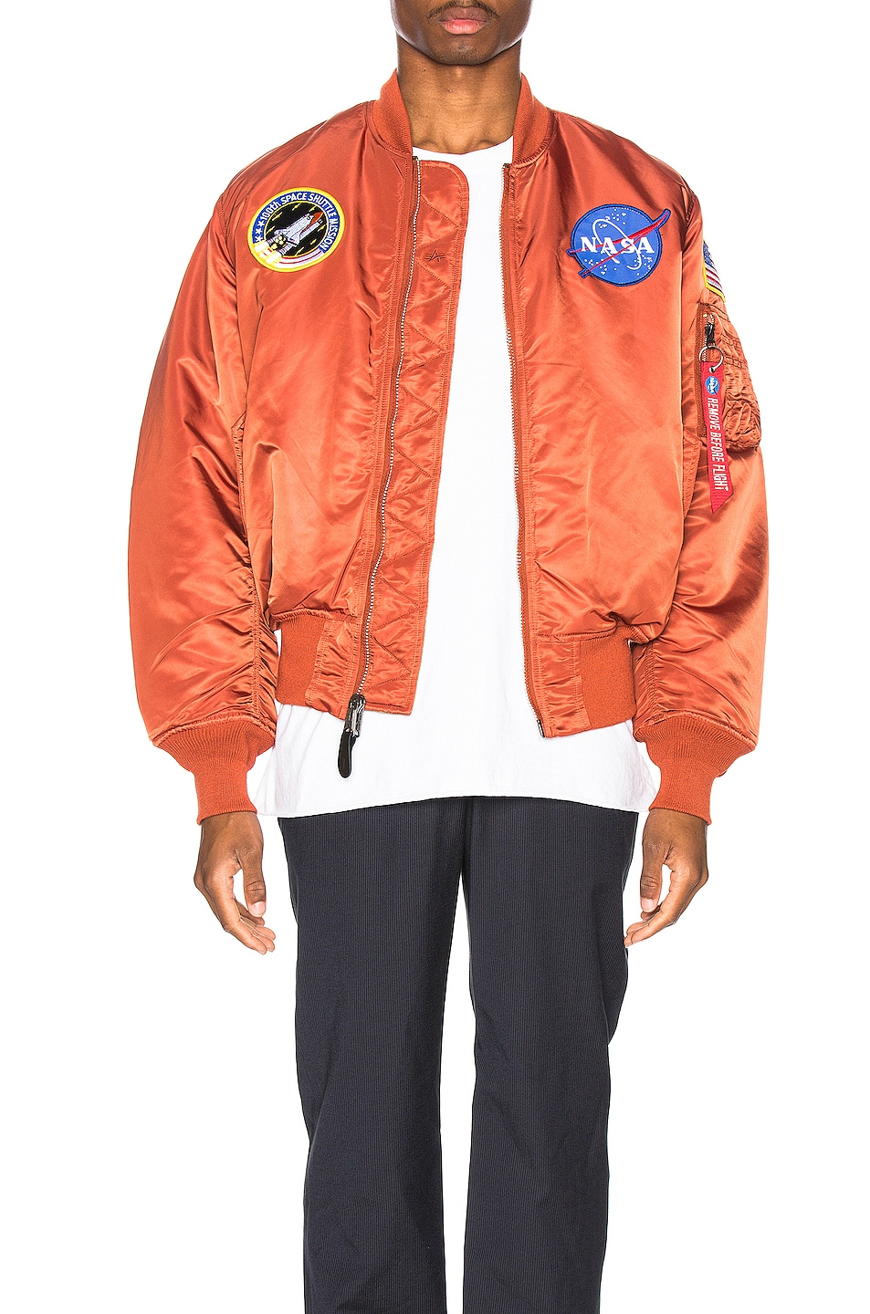 Image 1 of ALPHA INDUSTRIES Nasa MA-1 in Rust