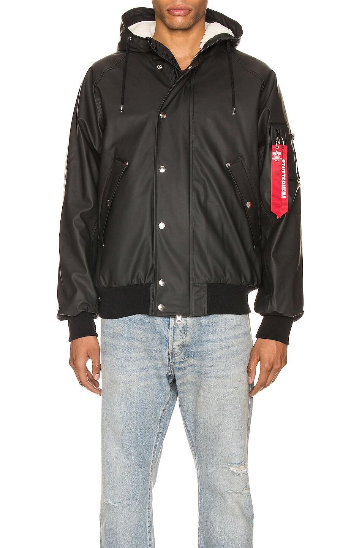 Image 2 of ALPHA INDUSTRIES x Stutterheim N2-B Jacket in Black