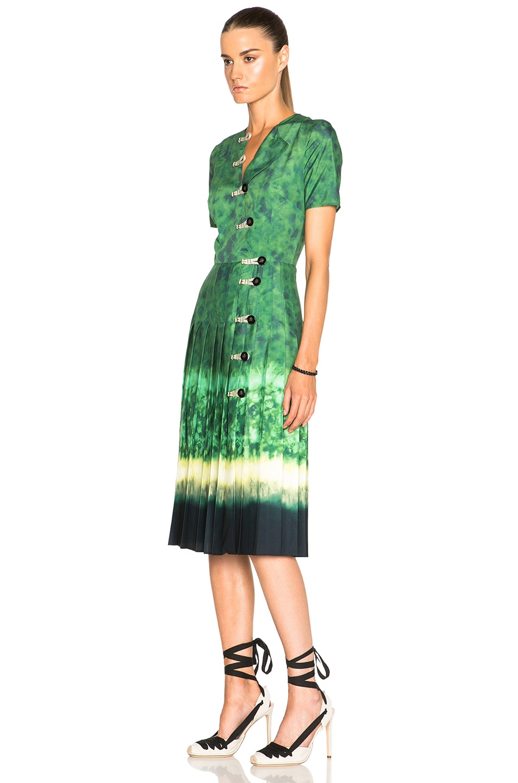 Image 2 of Altuzarra Ilari Dress in Ceramic Green