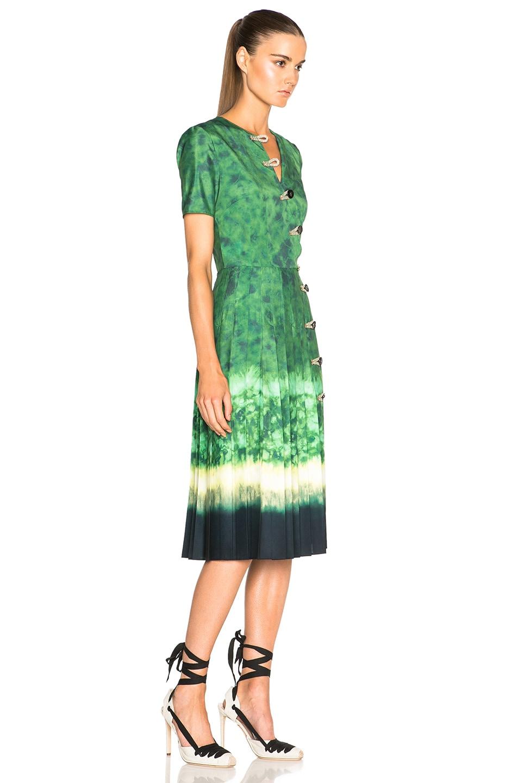 Image 3 of Altuzarra Ilari Dress in Ceramic Green